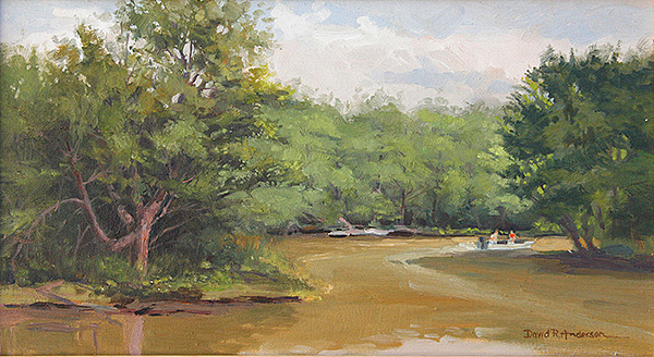 Backwaters Painting